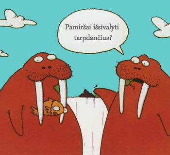juokingas paveiksliukas apie odontologiją